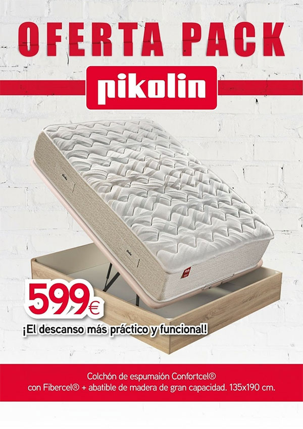 Oferta pack Pikolin Confortcell